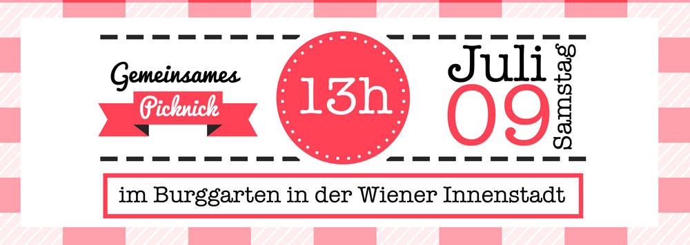 FoodbloggerAT Bloggertreffen: Picknick im Burggarten