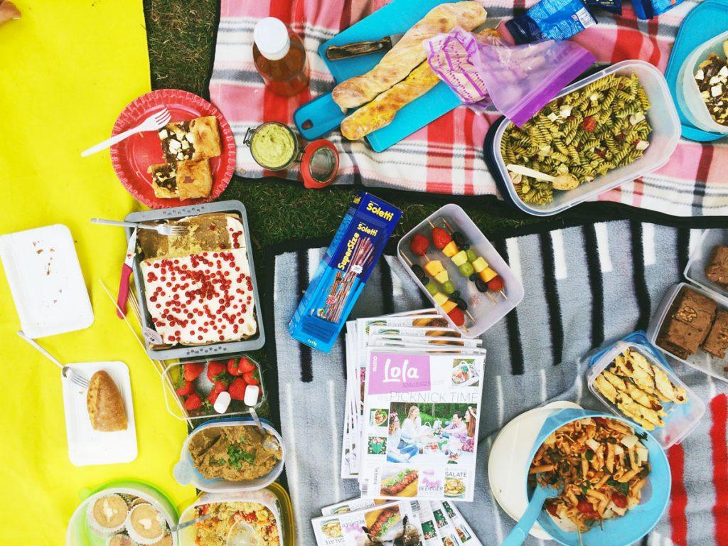 Unser Picknick-Buffet