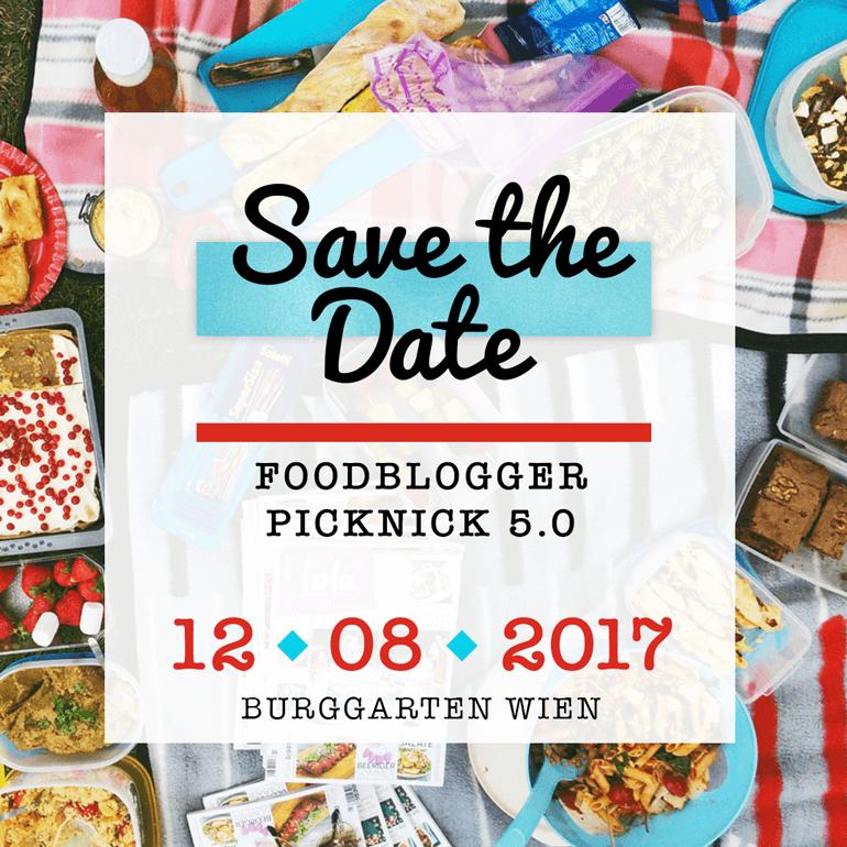 Save the Date: das 5. Picknick der Österreichischen Foodblogger findet am 12.8.2017